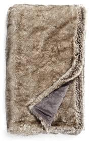 Faux Fur Blanket Queen Throw Blankets U0026 Bed Throws Wool U0026 Fleece Nordstrom