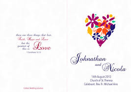 wedding booklet templates wedding booklets gallery catholic wedding solutions