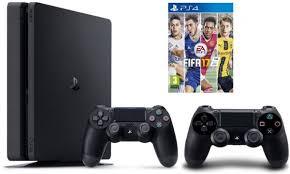 Ps 4 Ps4 Slim 500 Gb Gold Original Garansi Resmi Sony Pes 2018 sony playstation 4 slim 500gb with controller fifa 17 price