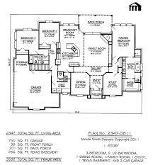 2 Story 4 Bedroom Floor Plans 1 Story 3 Bedroom 2 1 2 Bathroom 1 Dining Room 1 Family Room
