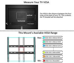 tv wall mount 400 x 400 amazon com mounting dream md2377 kt tv wall mount bracket kit