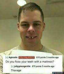 Flossing Meme - dopl3r com memes do you floss your teeth with a matress thavage
