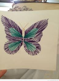 butterfly string art diy learn to make your own string art