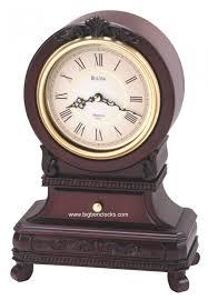 home decor fabulous bulova mantel clock for living room fireplace