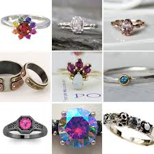 rock star rings images 20 unique engagement rings for under 500 rock n roll bride jpg