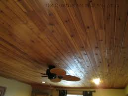 the creative me and my mcg planked ceilings and family room tour