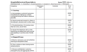 sample nursing evaluation form templates download toolkit