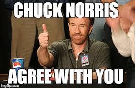 I Agree Meme - chuck norris approves meme imgflip