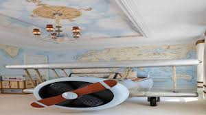 Plane Themed Bedroom by Airplane Decor Boys Room Home Decor 2017
