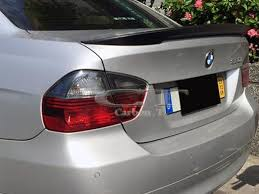 painted color for bmw e90 sedan high kick performance style trunk
