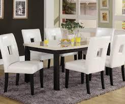 homelegance archstone 7 piece 60 inch dining room set w white