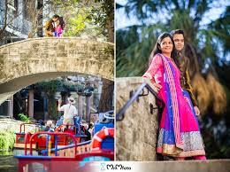 san antonio photographers san antonio riverwalk engagement photos international wedding