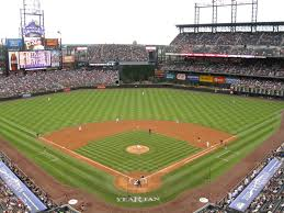 119 coors field stadium and arena visits
