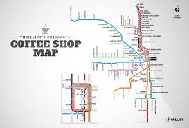 Dc Metro Blue Line Map by The Best Coffee Shops In Chicago Near Every Cta Stop Thrillist