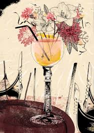 cocktail illustration livia cives illustration soup