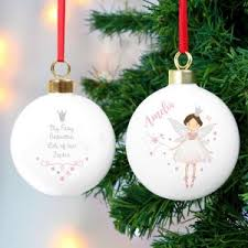 personalised christmas baubles and decorations