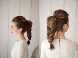 ponytail braid hairstyles how to fishtail braid ponytail southern