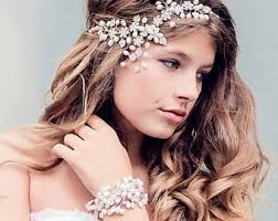wedding hair jewelry etsy se