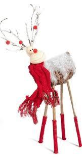 Christmas Moose Home Decor Christmas Welcome Statue Moose Xmas Decorations Holiday Home Decor