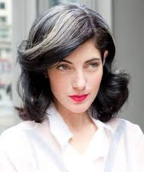 hairstyles with grey streaks image result for dark hair with gray streak hairstyle hair