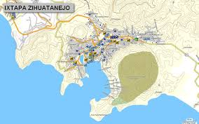 zihuatanejo map cartografia gps map e32 topographical map for garmin gps devices