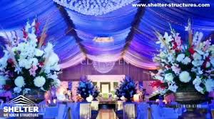 luxury wedding marquees supplied for pakistan wedding venue