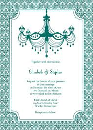 Blank Wedding Invitations Blank Teal Wedding Invitation Template Elite Wedding Looks