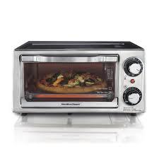 Toaster Oven Dimensions Hamilton Beach 4 Slice Toaster Oven 31137