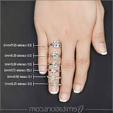 diamond hand rings images 1 carat diamond ring on hand rings jpg