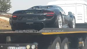 spyder porsche price new black porsche 918 spyder arrives in south africa