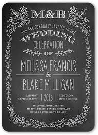 wedding invitations shutterfly captivated chalk 5x7 wedding invitations shutterfly