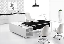 modern executive desk modern office suite with bamboo drawers