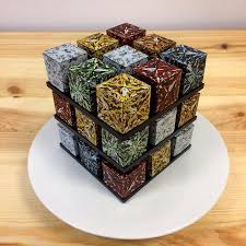 photo cakes rubik s cakes are a thing and they re pretty to eat bored panda