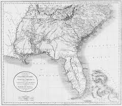 Outline Map Of The United States by Digital History