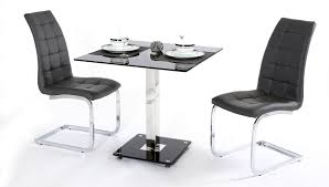 kitchen table online glossy black two seater dining table in minimalist design feat