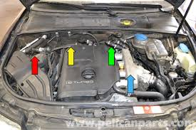 1999 Audi A6 Fuel Pump Relay Location Audi A4 B6 Fixing Common Vacuum Leaks 2002 2008 Pelican Parts