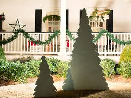 Christmas Decorations To Make At Home by How To Make A Backlit Wooden Christmas Tree Hgtv