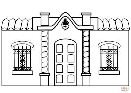casa de la independencia tucuman argentina coloring page free