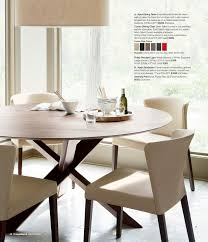 crate and barrel dining room chairs lowe ivory leather dining