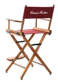 The Directors Chair On The Set First Look At Carrie Fisher And Debbie Reynolds U0027 Property Auction
