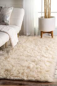 Cheap Oversized Rugs Best 25 Fluffy Rug Ideas On Pinterest White Fluffy Rug White