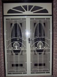 Secure Sliding Windows Decorating Door Frame Design With Steel Doorlite Window The Painted In