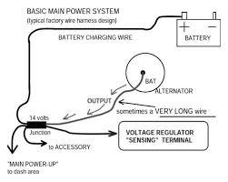 one wire alternator diagram one wiring diagrams