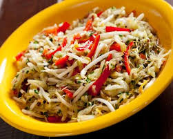 comment cuisiner les pousses de soja recette salade chinoise de germes de soja