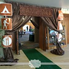 Decoration Pour Camping Car Camping Themed Party Camping Themed Grand Entrance Camp Jace