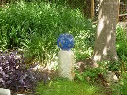 Garden Gazing Globe Blues In The Garden My Gardener Says U2026