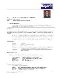 Ctc Means In Resume Chandan Kumar Resume