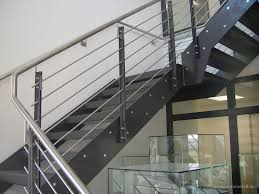 treppen aus metall gerade treppen simo blech metallverarbeitung epfendorf rottweil