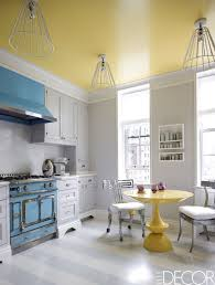 gray kitchen cabinets yellow walls 40 blue kitchen ideas lovely ways to use blue cabinets and