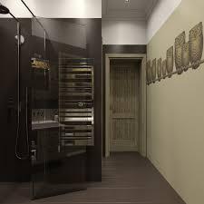 bathroom design cozy dark tile flooring with exciting shower room